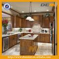 madeira maciça personalizado cor maple grão de madeira armário de cozinha