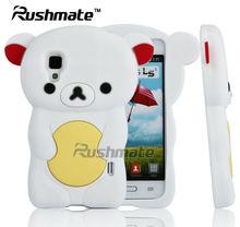 Cute Cartoon Design Back Cover For LG E455 Optimus L5 II Fancy Silicone Cell Phone Case