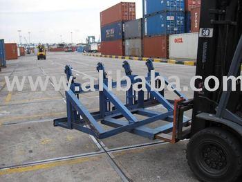 Forklift Drums Lifter (4 Drums) / Oil Drum Lifter