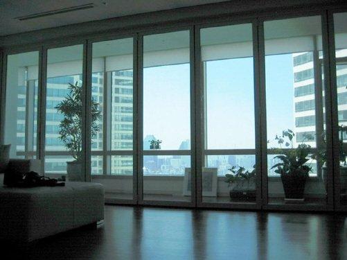 Plegable puertas de vidrio