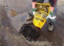 Cold asphalt for pavement repair 20kg