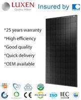 295W mono solar energy ALL BLACK