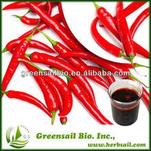 100% natural Paprika Red Pigment 98% oleoresin capsicum