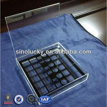 Manufacturing customized perfect acrylic cosmetic&makeup organizer