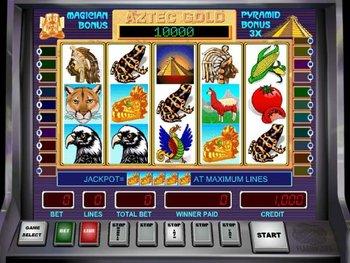 Online MegaJack Aztec Gold