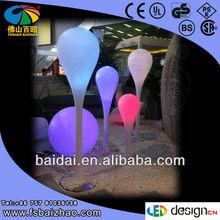 led plastic floor lamp/light