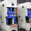 C marco de alimentación de prensa, de alta velocidad neumática de la máquina perforadora