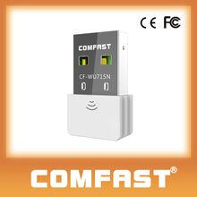 COMFAST CF-WU715N usb adapter wireless free wifi transmitter