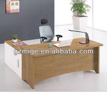 Modern Yellow Malamine Boss Office Furniture