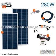 RV Solar Power Kit 280 Watt 12 Volt High Demand Products