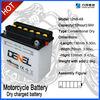 12N9-4B High Capacity Dry Charged 12V 9ah Motorcycle Battery
