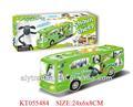 Shantou Farah juguetes para niños caliente de la venta del B / O de plástico de autobuses eléctricos de juguete