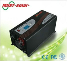 Electronic load with pure sine wave battery charger/ Must Solar Inverter