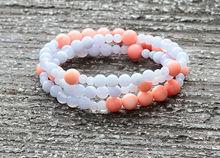 Bead charm attractive gemstone bracelets,52cm gemstone bead 52cm gemstone bangles