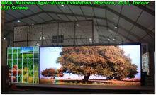 P10 indoor full color scrolling advertising billboard korea