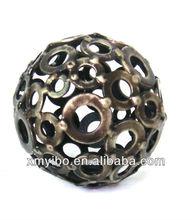 ODM metal home decor hollow ball