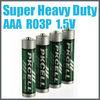 Top selling super heavy duty battery AA AAA from shenzhen factory