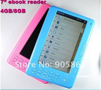Wholesale 7 inch Touch E-book Reader with factory price