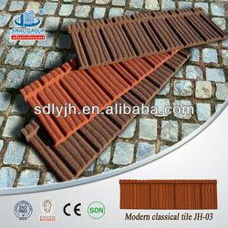 asphalt roofing shingles stone coated color steel roof tile (factory)