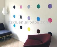 Vinyl polka dots wall sticker