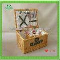 Mimbre cesta de picnic