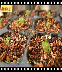 silver white crude vermiculite for garden