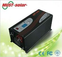12 volt 220 volt inverter with pure sine wave battery charger/ Must Solar Inverter