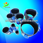 SS 304 pipe leakage fast sealing repair clamp ,made in Dalian,China