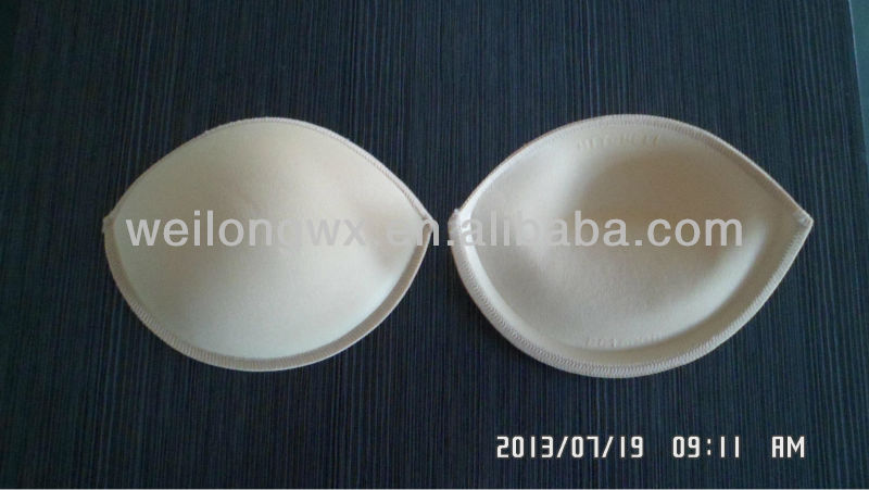 Oil bag bra cup, push up oil padding A28463#