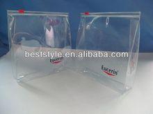 hot sale pvc zipper absorbent felt bag