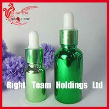 fabriquer 10ml bouteille en verre coloré avec pompe spray