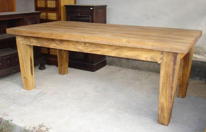 Tavolo da pranzo grande piede tavolo in legno id prodotto - Tavolo grande legno ...
