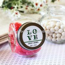 wedding favor candy jar