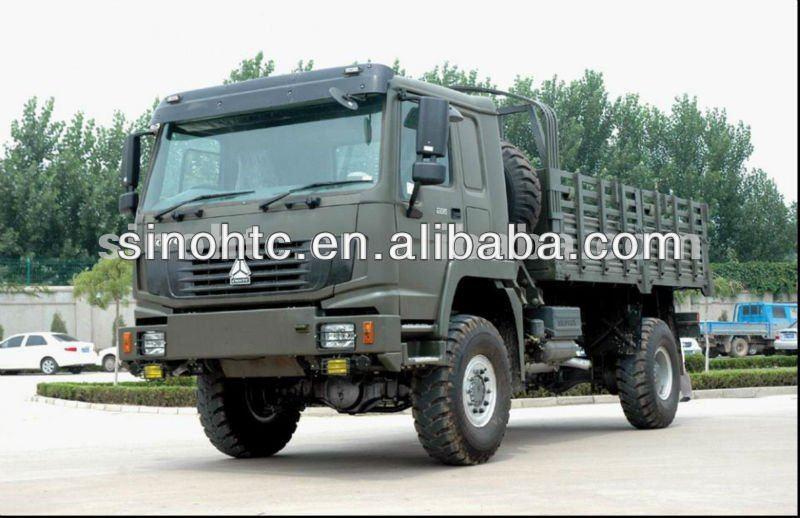 Howo Military 4x4 Trucks