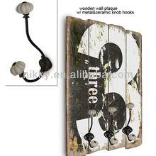Vintage wall hooks