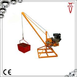 Diesel Freestanding Light Jib Cranes