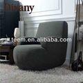 novo estilo de madeira redonda sofá chaise