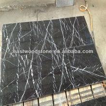 Natural black amber stone