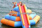 low price inflatable water step slide