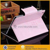 for apple ipad mini crocodile sleeve , case manufacture for ipad mini case