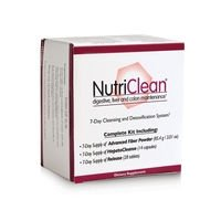 Market America Nutri-Clean 7 Days Body Detox Natural Herbs Liver and Colon Cleansing