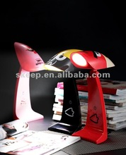 20130730 cute animal mini fancy desk lamp for sale colourful led lamp with led light