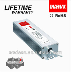 12v waterproof led power supply 150w with CE ROHS approved