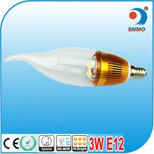 HOT SALES 2013 OFF 30% e14 e27 candle bulb led candle light e12