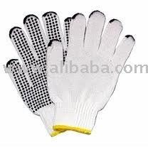 working glove / Guante de punto