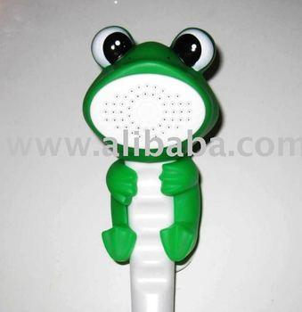 FROG CARTOON SHOWER HEADS FOR KIDS