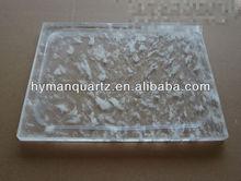 square crystal quartz bbq, crystal quartz hot pot, quartz crystal bbq grill