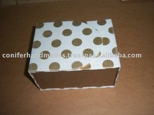 Polka Dot Paper Box