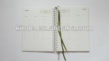 2013 custom paper notebook / agenda / book