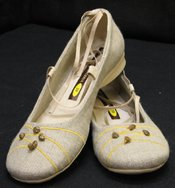 100% Linen Shoes For Women